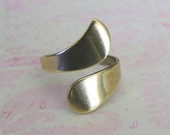 Brass Bypass Ring 2076B