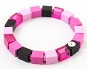 metropink 1x1 bracelet