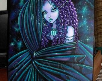 SALE Nova Celestial Djinn Nebula Fairy BIG Myka Jelina Original Painting