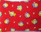 Bob The Builder Toddler Pillow   Includes Pillow Form Boy  Baby 16 X 20 Gift Red Travel Pillow