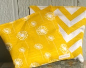 Sacred Slumber Dream Pillow - Yellow - Herbal Dream Pillow, Sleep, Calming, Bedtime, Herbal, Stress, Natural