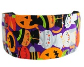 Bargain Headbands, Super Cute Halloween Kitties in Costume Over Purple, Soft Headband