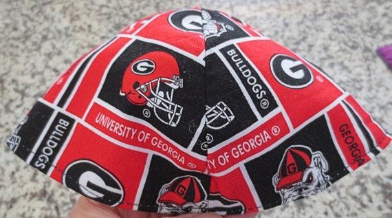 University of Georgia kippah Bulldogs yarmulke  great NCCA sports kippah
