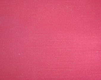 3 Yards of Vintage Maroon Satin Finish Fabric
