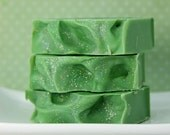 Christmas Forest Cold Process Soap with Cruelty-Free Tussah Silk