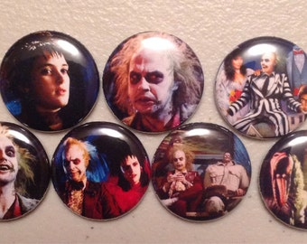 7 Beetlejuice Buttons