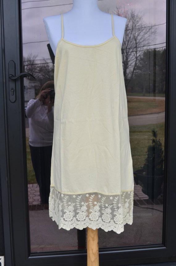 Long dress extender slip