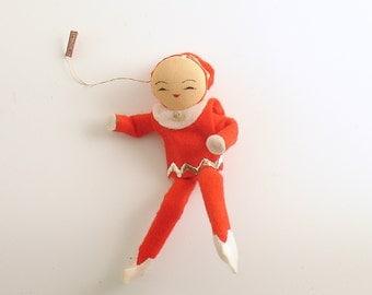 Vintage Christmas Ornament Pixie Elf Christmas Decoration