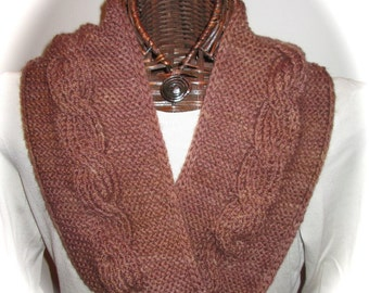 PDF Reversible Cables Cowl or Moebius Ring Pattern