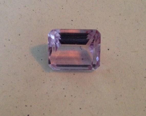 4.5 Ct Emerald Cut Amethyst Octagonal  (6.2mm x 8.5mm x 10.8mm)