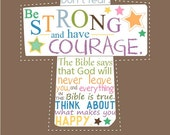 Loving Bedtime Christian Reminders for kids...8 by 10 print.