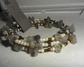 Crystal Healing 'Alleviates COLD'   Bracelet