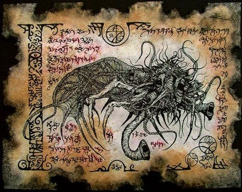 YOG SOTHOTH cthulhu larp necronomicon magick occult horror