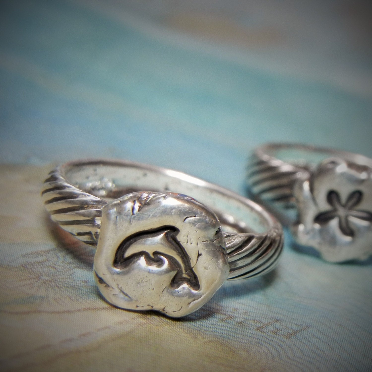 dolphin jewelry tiny dolphin ring sterling silver dolphin