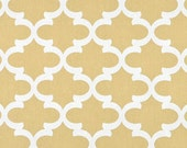 CLEARANCE Premier Prints Fynn- Saffron - Gold Fabric - Fabric by the Yard Yellow Fabric