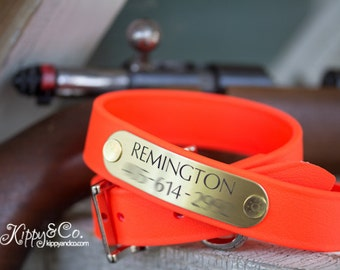 Hunting Dog Collar 1 inch Wide , No Stink Dog Collar, Hunting Dog Collar, Personalized Hunting Dog Collar, Personalized Pet