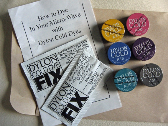 How to use dylon cold dye