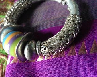 E X P A N D A B L E   - Bracelet or Amazing Single Hoop Earring