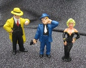 Dick Tracy PVC Figures - 1990s Disney - Madonna - Breathless Mahoney & Itchy