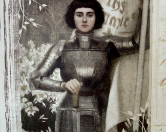 RESERVED - St. Joan of Arc Greeting Card
