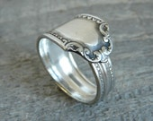 Silver Spoon Ring - Viceroy Pattern