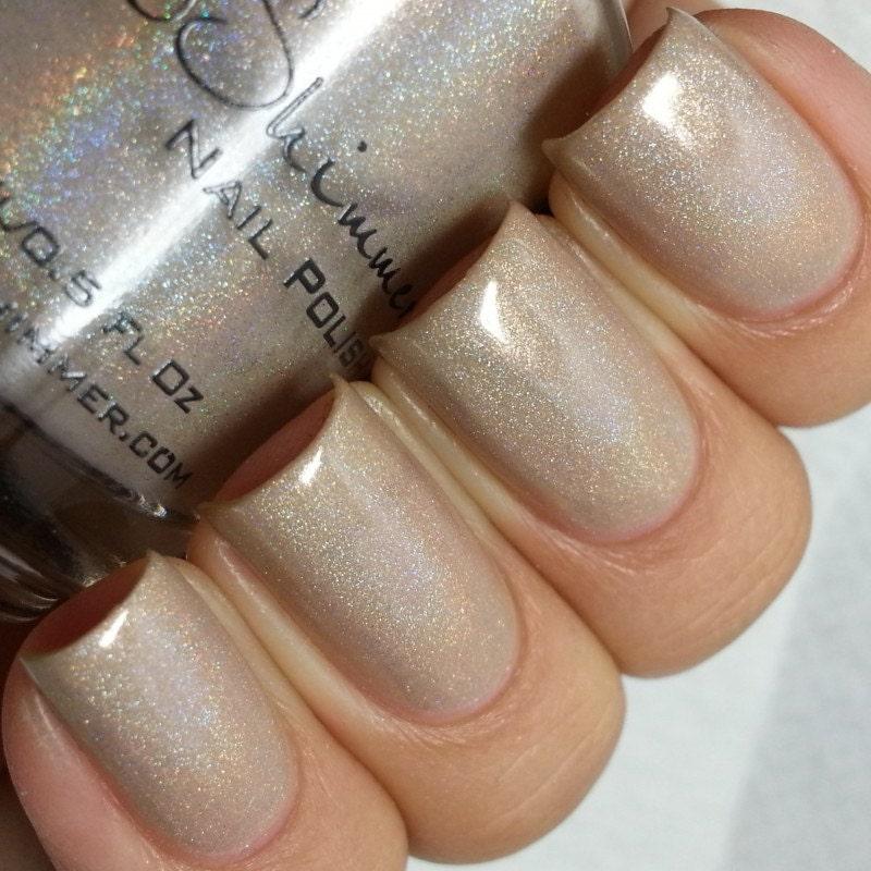 In Bare Form Holographic Nail Polish Nail Polish 0.5 Oz Full