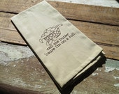Call Me Butter 'Cause I'm On A Roll Silk Screened Cotton Towel