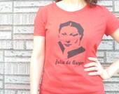 T-Shirt, Julia de Burgos, Puerto Rican Poet, XX-LARGE, Red