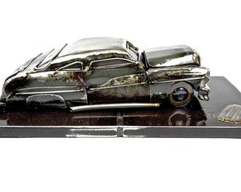 1950 Mercury Lead Sled Hot Rod Sculpture