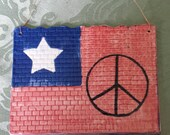 Peace in America Wall Sign