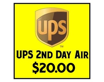Expedited UPS Delivery Service - 2nd Day Air