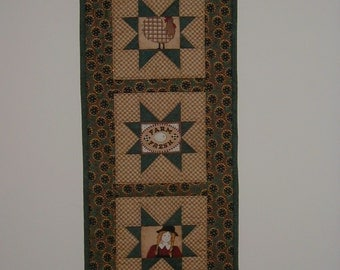 Quilted Wall Hanging - Farm Fresh (UNWHD)