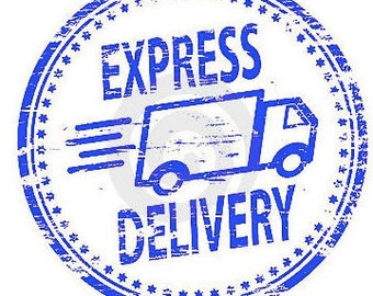 Express Shipping....standard 5-7 days processing time and shipped with Express 1-2 day shipping-USA Buyers only