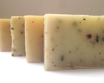 Honeysuckle Comfrey Soap-healing soap/vegan soap/natural soap/organic soap/body soap/homemade soap/handmade soap/bar soap/artisan soap/soap