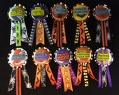 10 Halloween Costume Contest Prize Ribbons