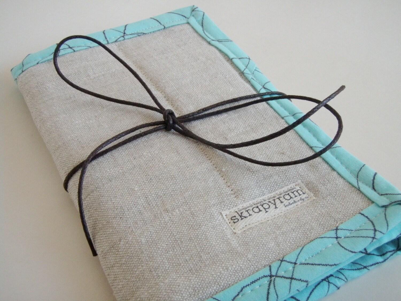 Circular Knitting Needle Case Sewing Pattern : Circular Knitting Needle Case/ Short DPN Case/ Linen by skrapyram
