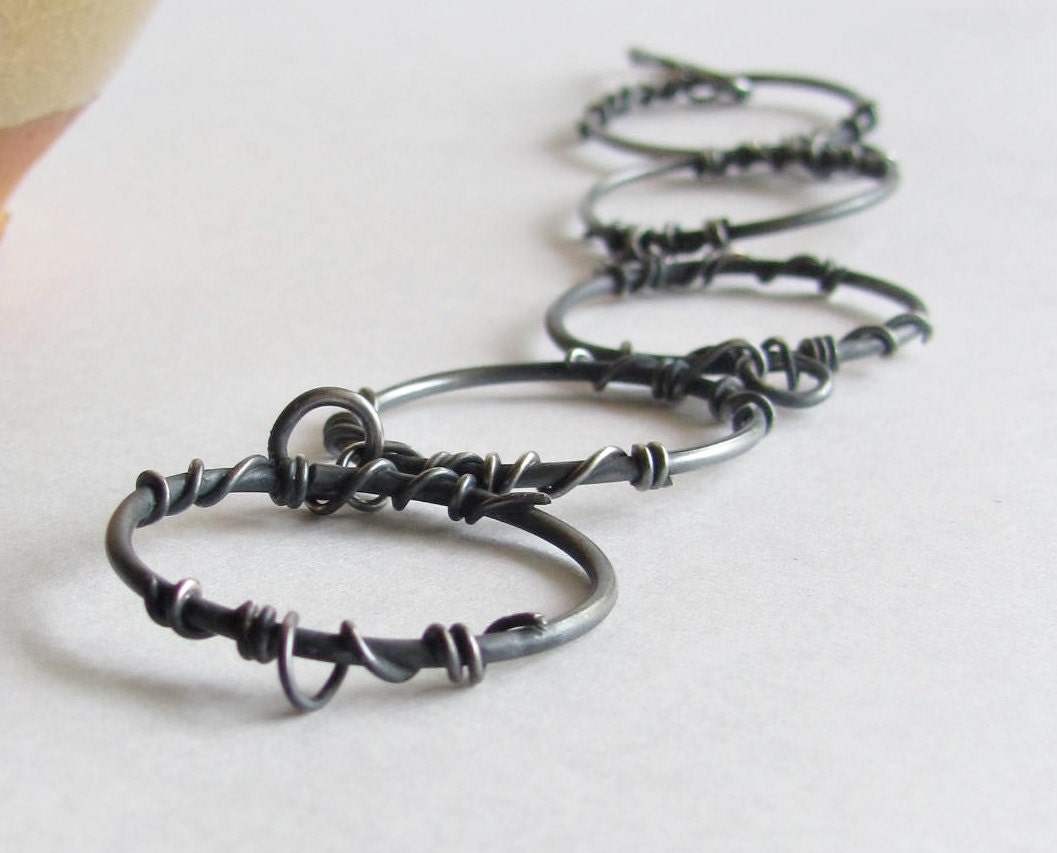 Handmade Vine Bracelet Barbed Wire Bracelet