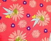 Tinkerbell Daisy Fabric By The Yard FBTY