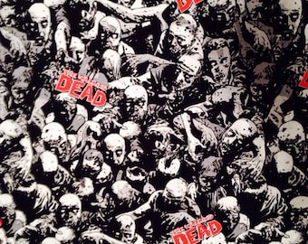 The Walking Dead Fabric By the Yard