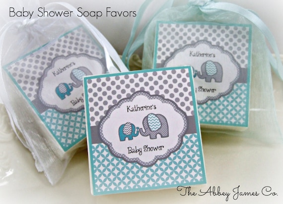 baby boy shower favors elephant favors baby shower favors set of 10