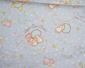 Twin Little Stars Kiki Lala print 50 cm by 106 cm or 19.6 by 42 inches Half meter