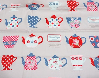 Kitchen theme Japanese Fabric Half Meter  50 cm by 106 cm or 19.6 by 42 inches nc42