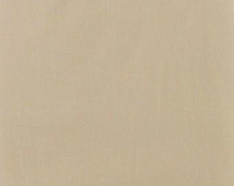 New Window Curtain Valance made from Khaki Light Tan KONA COTTON fabric