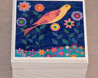 Bird Jewelry Box