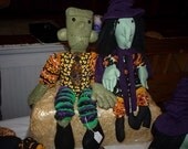 Yo Yo Frankenstein Halloween monster decoration doll fabric yo yo toy