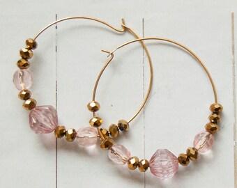 Lana -  hoop earrings
