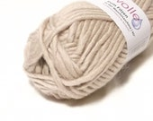 Light Tan Felting Wool Yarn Uni 51
