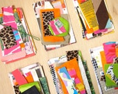 Economy Collage Kits (1 mini set of paper and fabric stock)