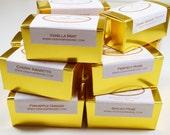 SOAP- Twenty 2oz handmade soap samples, vegan soap, organic soap, natural soap, soap gifts, Christmas Gifts