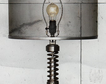 Custom Metal Mesh Shade